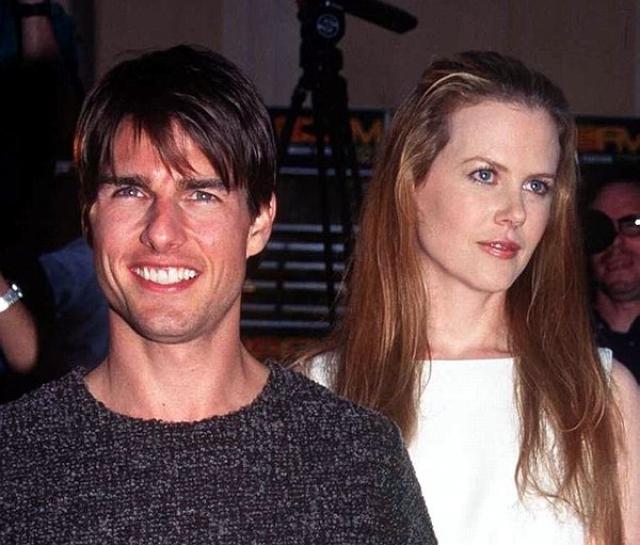 Николь Кидман. 11-летний брак Тома Круза с актрисой создал им репутацию идеальной пары Голливуда, а секс-символу - порядочного семьянина.