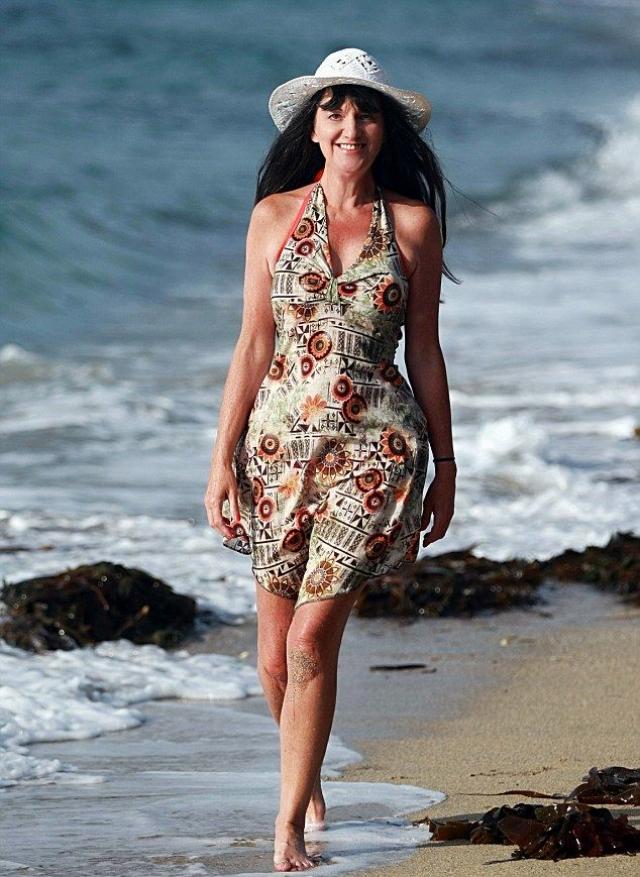 Сьюзи Монти. Монти закончила модельную карьеру в 40 лет: она впервые вышла на подиум еще будучи ребенком, в 10-летнем возрасте,и с тех пор изрядно подустала.
