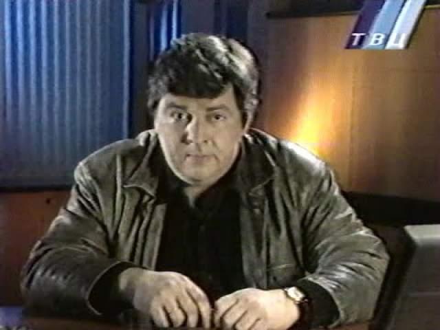 """До 1990-го он готовил выпуски информационно-музыкальной программы Главной редакции молодежных программ ЦТ """"Взгляд"""" и сделал несколько выпусков программы """"Галерея"""" о новых политических партиях в СССР."""