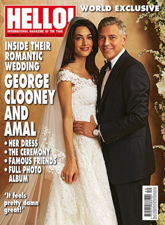 27 сентября 2014 года актер и адвокат поженились.