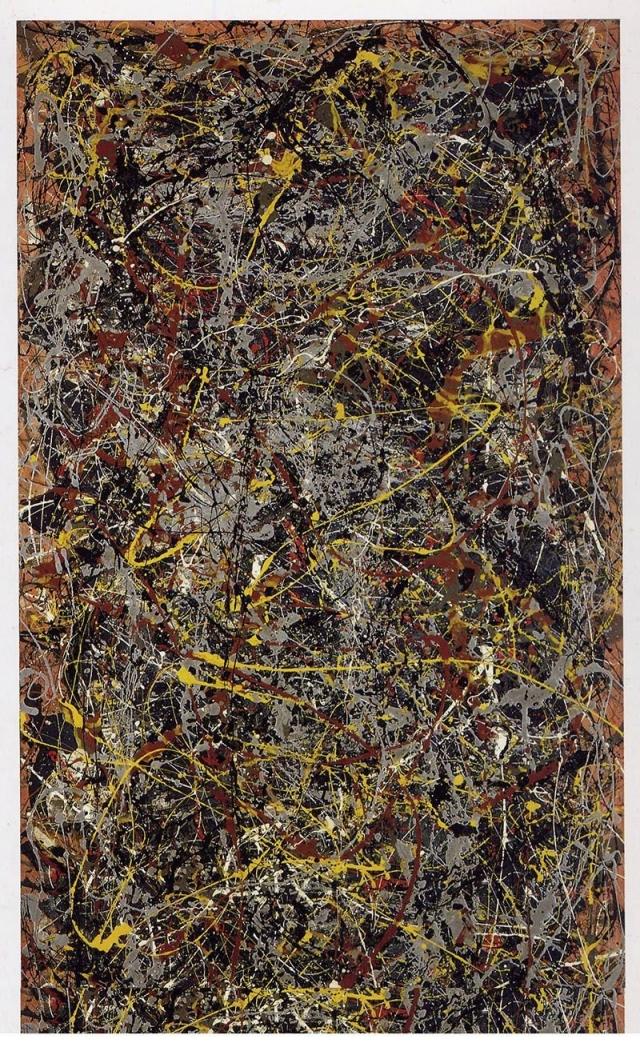"""$140 000 000. """"№ 5, 1948"""", Джексон Поллок."""