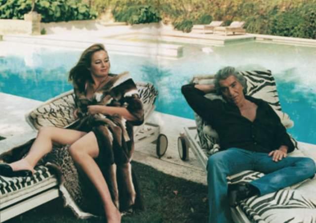 """Вторая супруга модного художника, как он сам любит себя называть, Ева Дюрингер, была участницей конкурса """"Мисс Вселенная""""."""