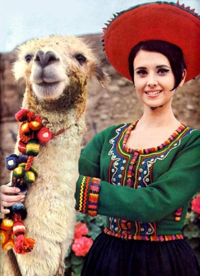 Маделейн Хартог Белл (Перу) - Мисс мира 1967.