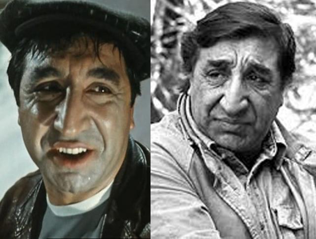 Фрунзик Мкртчан. На почве личных и профессиональных неурядиц актер пристрастился к алкоголю. Скончался 29 декабря 1993 года в своей квартире в Ереване.