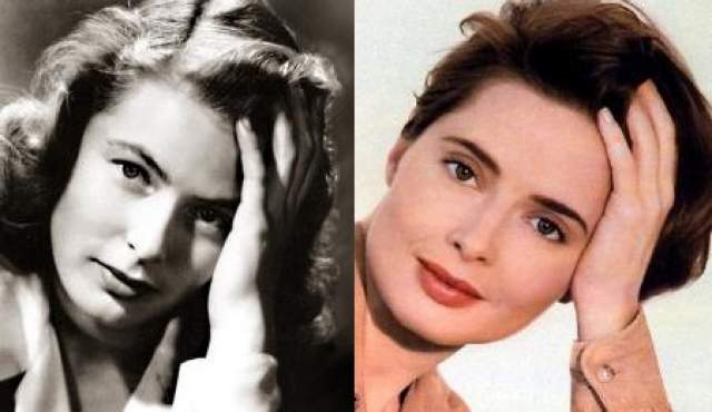 Хотя среди современных любителей кино Изабелла явно известнее своей мамы, стоит отметить, что для знатоков кино авторитет Ингрид непоколебим, ведь в рейтинге Американского института киноискусства - 100 величайших звезд кино за 100 лет по версии AFI - она занимает четвертое место.