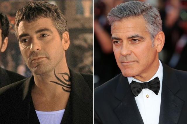 """""""От заката до рассвета"""" (1996). Джордж Клуни. Не так давно актер перестал быть самым завидным холостяком Голливуда, вместо этого став отцом и мужем."""