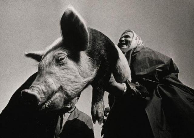14. На рынке. Фотограф Александрас Мацияускас. Снимок продан в лоте из трех работ за 4 тысячи фунтов стерлингов.
