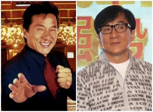 """""""Час пик"""" (1998). Джеки Чан. За прошедшие 20 лет у актера явно прибавилось производственных травм, поскольку он много снимался, как обычно выполняя все трюки сам. Также Джеки пробовал себя в качестве режиссера, снимался в историческом кино и записывал музыкальные альбомы."""