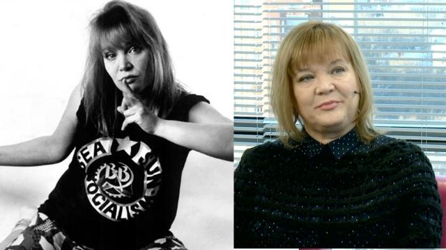 Настя Полева. Первая леди отечественного рока перебралась из Свердловска в Санкт-Петербург, хотя часто выступает на Родине вместе с супругом.