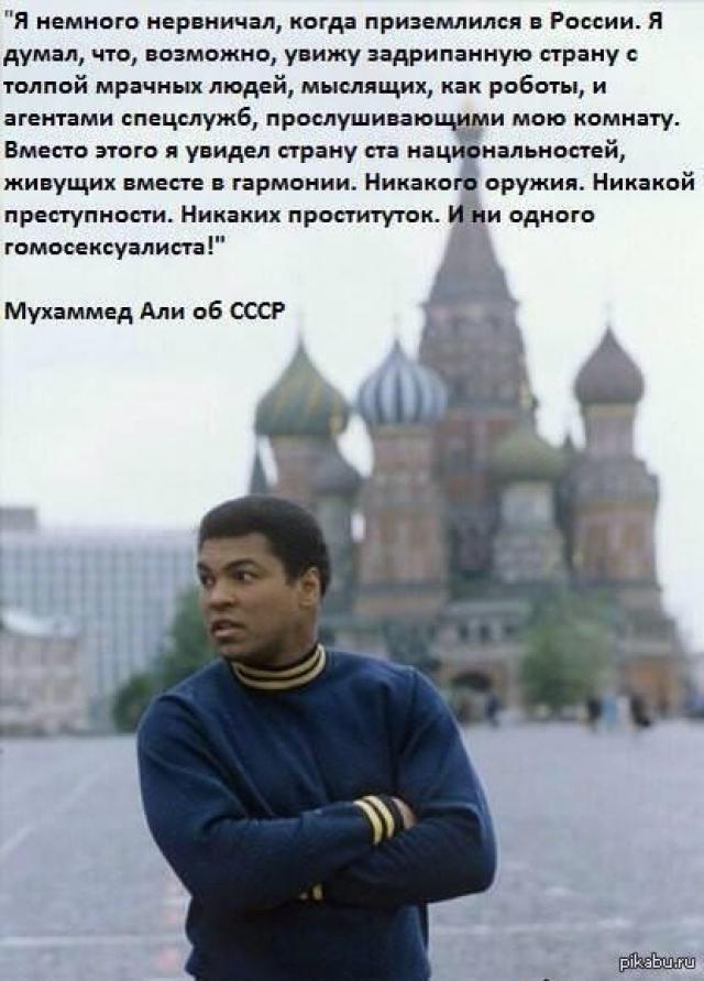 Али остался в восторге от визита и еще долго рассказывал о нем на родине.