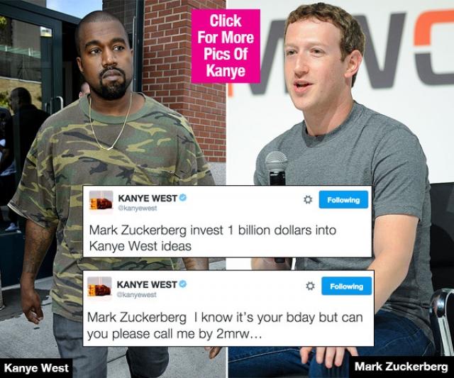 Тогда же он неожиданно попросил у основателя Facebook Марка Цукерберга вложить в него один миллиард долларов. Причем повторил просьбу неоднократно к недоумению последнего.