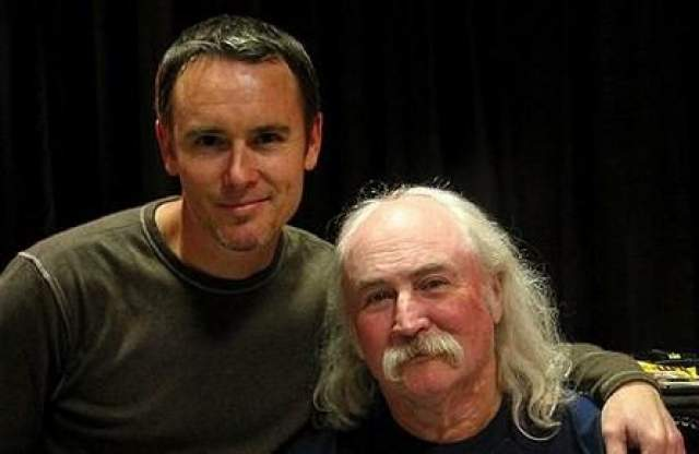 С сыном Рэймондом Кросби воссоединился в 1994 году, когда тот был уже взрослым мужчиной.