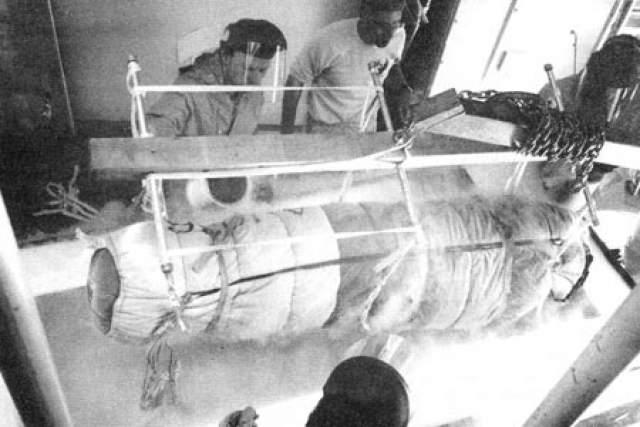 До 1981 года тело ученого хранилось в жидком азоте в Южной Калифорнии, после чего было перевезено в крионическую организацию Alcor Life Extension Foundation, где и остается по сей день.