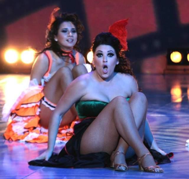 Ирина Дубцова. Певица всегда была склонна к полноте, особенно много лишнего веса ей принесла беременность.