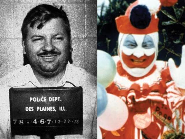 """Джон Уэйн Гейси. Доказанных жертв - 33. """"Клоун может уйти с убийством… Я никогда не был уличен в чем-либо более серьезном, чем бегство из похоронной комнаты без разрешения,"""" - говорил педофил на суде"""
