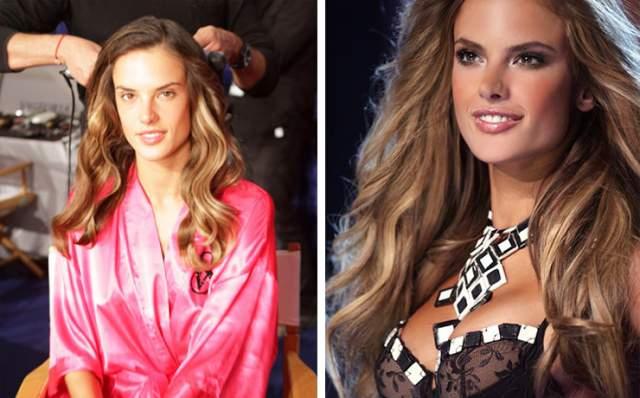 Алессандра Амбросио, 37 лет. Одна из самых востребованных моделей в мире. На фотографиях ее тело выглядит идеально. Причем у женщины двое детей.