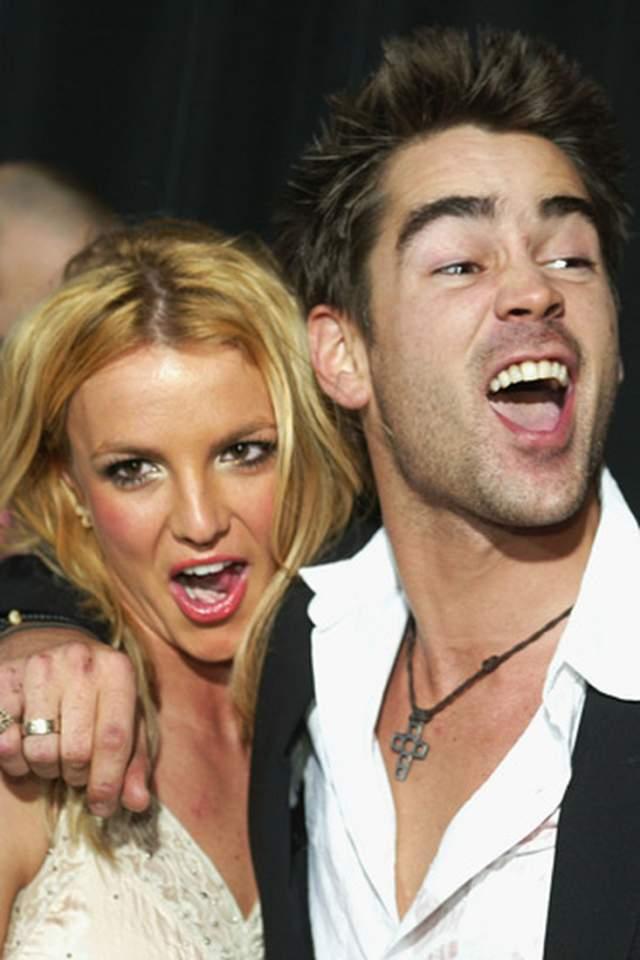 """Она не отрицала, что целовалась с Колином: """"Конечно же, мы целовались! Он самый милый и самый сексуальный мужчина в мире! Но у него репутация плохого парня. Между нами нет ничего серьезного, просто у меня долго не было парня. Я ведь просто поцеловалась!"""". На одной из телепередач Колин сказал, что Бритни очень хорошо целуется."""