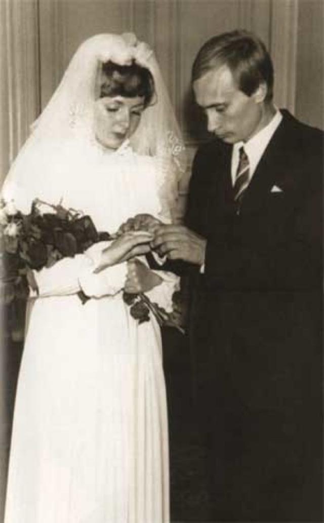 1983 год - свадьба Владимира и Людмилы Путиных.