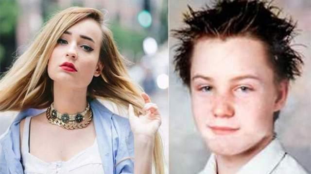 Ким Петрас, 25 лет. Германскую поп-певицу при рождении звали Тим, и она была мальчиком. Родителей Тима поначалу удивляли заявления сына о том, что он на самом деле девочка. Но постепенно и они поняли, что это не детская глупость, а истинная сущность сына.