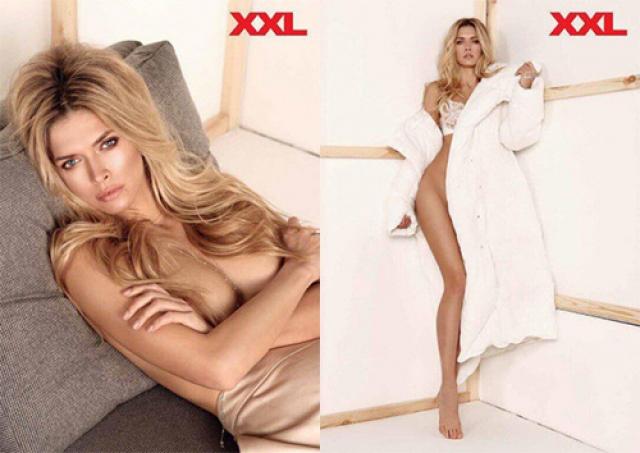 А вот ее же фотосессия для журнала XXL.