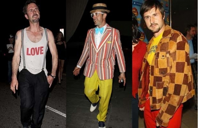 Актера Дэвида Аркетта частенько заносило на модных поворотах.