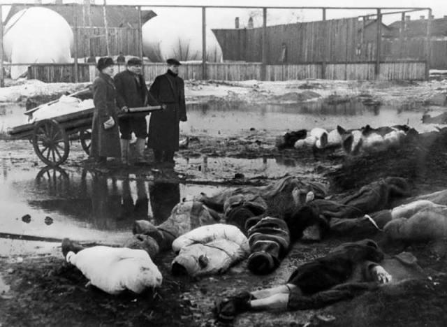 """""""Трупы уже перестали убирать, их просто заносило снегом. Люди умирали дома целыми семьями, целыми квартирами""""."""
