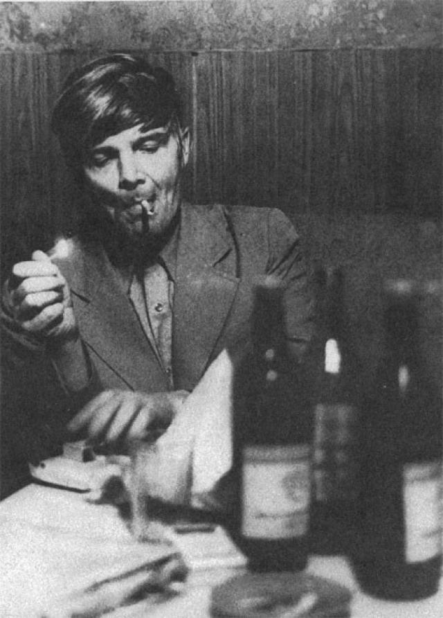 Венедикт Ерофеев. Водка прославила не только его героев, сам писатель употреблял напиток не меньше.