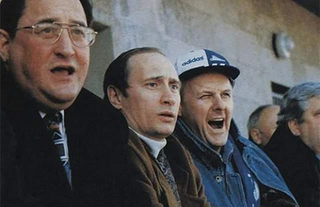 Советник председателя Ленсовета Владимир Путин и мэр Санкт-Петербурга Анатолий Собчак в 1991 году.