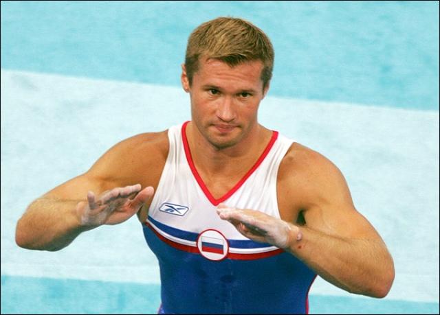 Алексей Немов. Российский гимнаст, четырехкратный олимпийский чемпион, также запомнившийся тем, что стал жертвой несправедливого судейства на Олимпиаде в Солт-Лейк Сити.