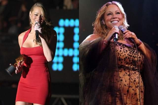 Согласно последним данным, в 2017 году ее вес достиг буквально критической отметки в 120 кг. Да, артистка все так же грациозна на сцене, в таких же сексуальных боди, как и десять лет назад, но нужно и честь знать.