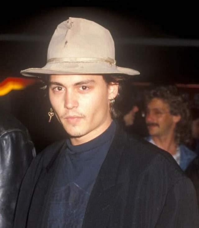 Джонни Депп в 1987.