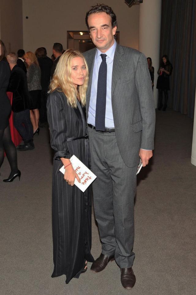 Мэри-Кейт Олсен и Оливье Саркози. Одну из знаменитых близняшек и сводного брата экс-президента Франции не смущает ни разница в росте, ни разница в возрасте.