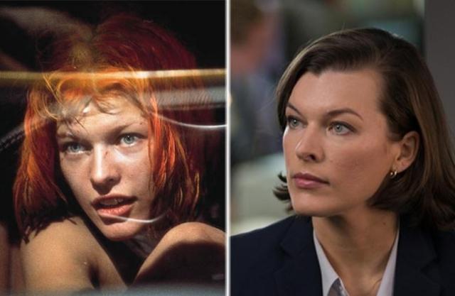 Милла Йовович. Актриса стала настоящей звездой. Снялась в нескольких громких фильмах. Сейчас Милла замужем на режиссером Полом Андерсоном и воспитывает двух дочек.