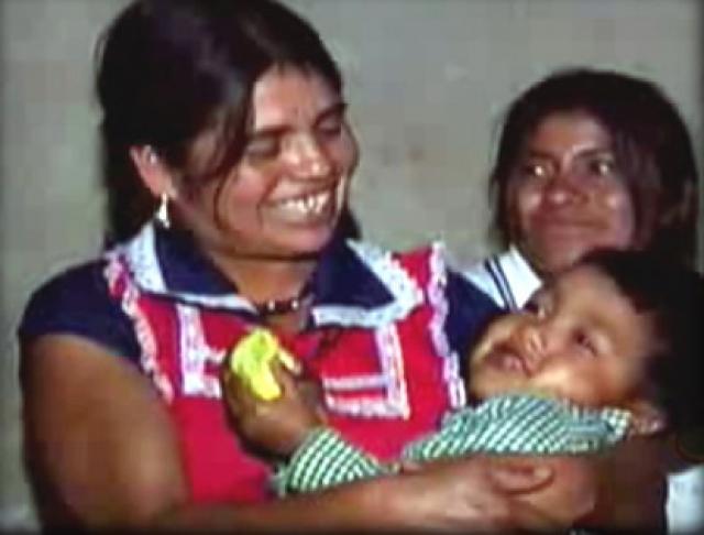 Матери после подобного пришлось долго лечиться, но ребенок выжил.