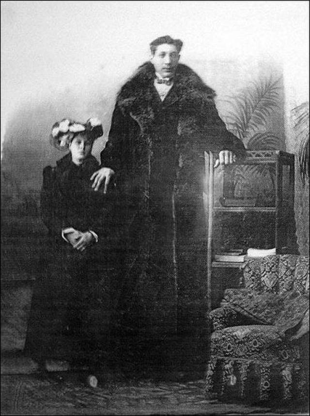 Был женат на женщине по имени Ефросинья Лебедева, у них было двое сыновей.