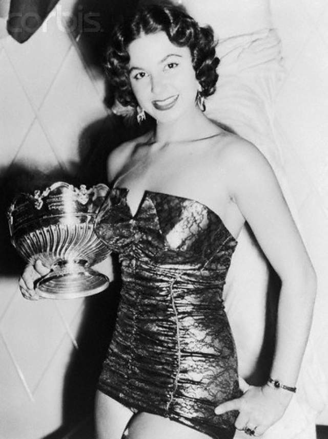 Антигона Костанда (Египет) - Мисс мира 1954.