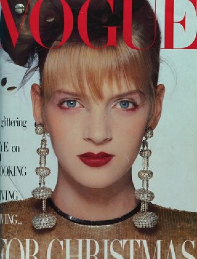 """Она начала работать в модельном агентстве """"Click Models"""" и в 1986 году попала на обложку журнала """" British Vogue"""". Спустя два года Ума начала свою карьеру актрисы, которая с тех пор идет без остановки."""