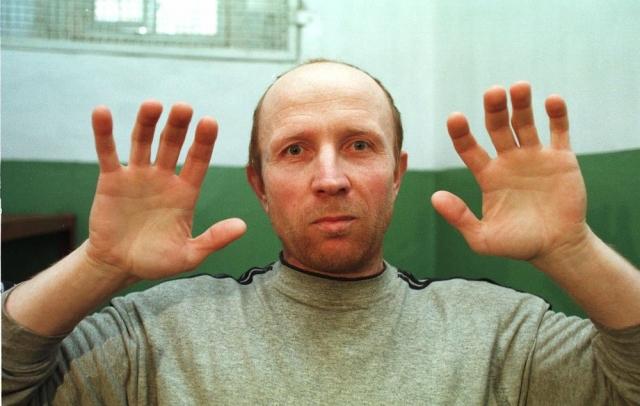 """Анатолий Оноприенко - """"Гражданин О"""". Оноприенко арестовали в 1996 году, когда за его плечами уже было около 52 жертв. Точное число убитых до сих пор не известно."""