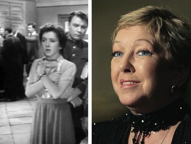 В том же фильме сыграла и еще одна будущая актриса Ольга Волкова.