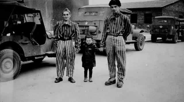 Самым юным из таких исключений и самым юным известным пережившим Холокост в лагерях ребенком стал четырехлетний еврейский мальчик Джозеф Шлейфштайн, которого отец сначала прятал от охраны, а затем охранники пощадили и сделали своеобразным талисманом, скрываемым от проверок, уже сами охранники.