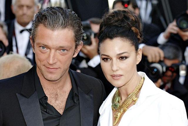 Моника Беллуччи и Венсан Кассель. Парижскую квартиру актерской четы обокрали в мае 2009 года.