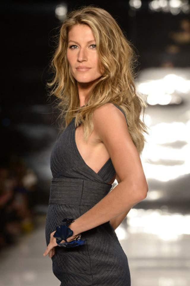 Жизель Бюндхен. Была моделью - стала бизнесвумен.