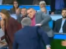 Телеведущий Ноткин в студии НТВ избил украинского эксперта