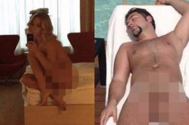 Артист поспешил удалить откровенные снимки. На нескольких фото была не только Юлия Ковальчук, которая позировала перед зеркалом обнаженной в откровенных позах, но и ее муж Алексей Чумаков, лежащий абсолютно голым на шезлонге.