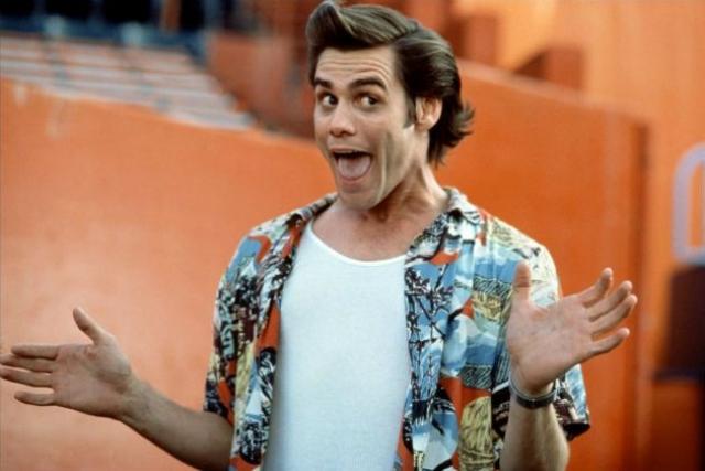 Джим Керри. Комедиант по праву может считаться одной из главных киношных звезд 90-х.
