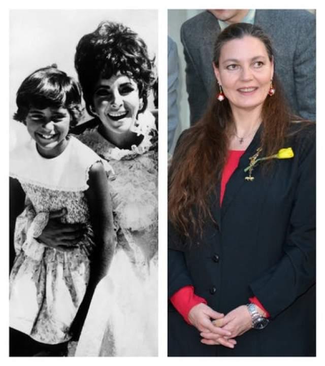 В браке с Ричардом Бертоном актриса удочерила Марию, которая сейчас является филантропом и занимается благотворительностью.
