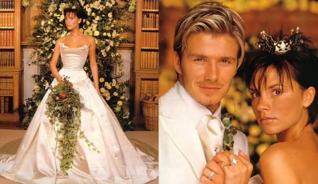 Дэвид и Виктория Бекхэм ($800 000). Свадьба солистки поп-группы Spice Girls и молодого футболиста состоялась в июле 1999 года в ирландском замке Латтрелстоун, аренда которого обошлась в $100 000. Столько же стоило и платье невесты от Веры Вонг.