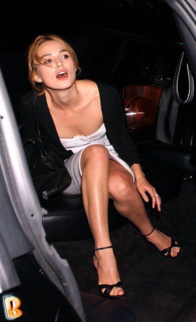Кира Найтли. Актриса хороша и в подпитии.