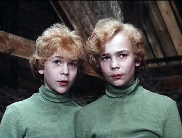 Владимир и Юрий Торсуевы. После феноменального успеха кинокартины исполнители главных ролей не только получили всесоюзную известность, но снялись в еще пяти фильмах.