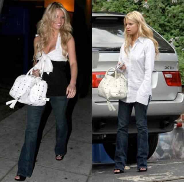 В 2006 слухи подтвердились, когда она засветилась в объективах папарацци, выходя из отеля в Лос-Анджелесе, где провела ночь с Адамом, одетая в рубашку любовника.